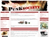 Punksociety, webzine de la musique alternative